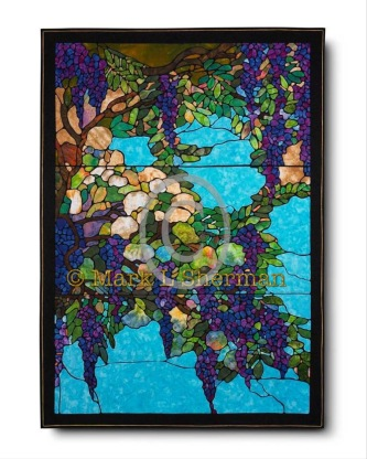 """""""Wisteria"""" Part of the Permanent Founder's Collection in the National Quilt Museum."""